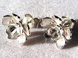 Large Double Flower Studs